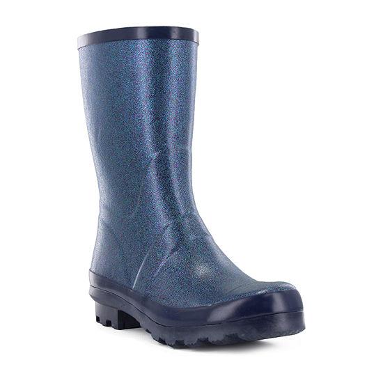 Western Chief Womens Razzle Dazzle Mid Rain Boots Waterproof Flat Heel