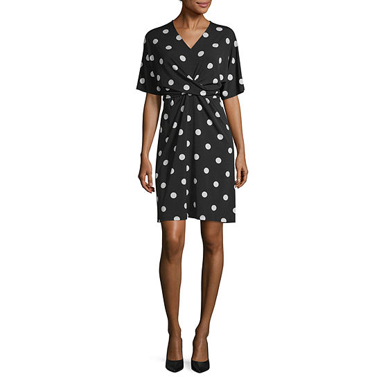 Worthington Twist Front Dress - Tall