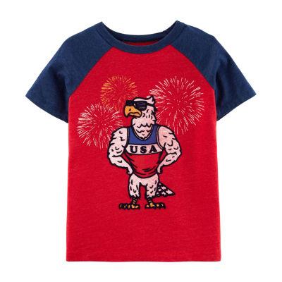 Oshkosh Boys Short Sleeve T-Shirt-Preschool