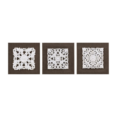 Madison Park Mandala Trinity 3-pc. Canvas Art