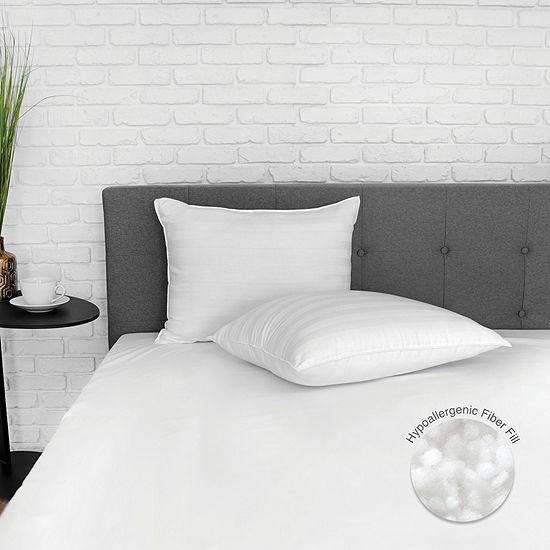 EcoPedic Eco-Classic 250 Thread Count Down Alternative Medium Density Pillow 2-Pack