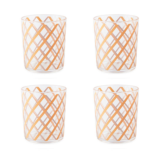 JCPenney Home Brunch 4-pc. Double Old Fashioned
