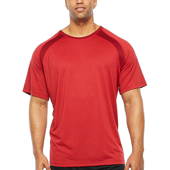 The Foundry Big & Tall Supply Co. Mens Crew Neck Short Sleeve Moisture Wicking T-Shirt