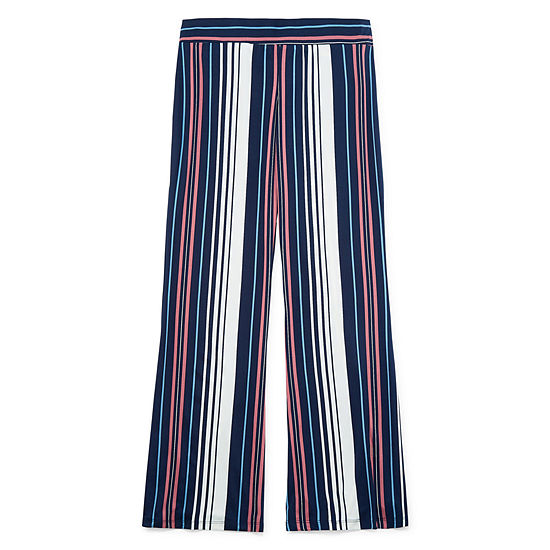 by&by-Juniors Womens Mid Rise Flare Pull-On Pants
