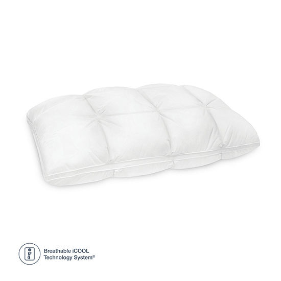 Sensorpedic Euro Majestic Down Alternative & Memory Foam Medium Density Pillow