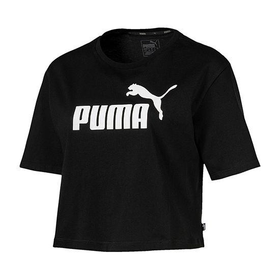 Puma Essentials Womens Crew Neck Short Sleeve T Shirt