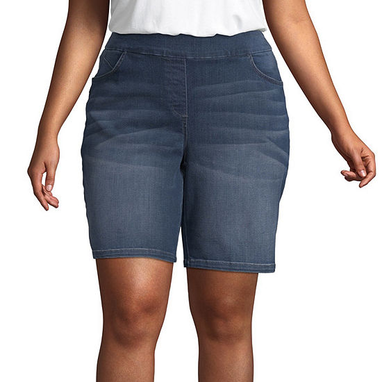 Liz Claiborne Briggs Pull On Short - Plus