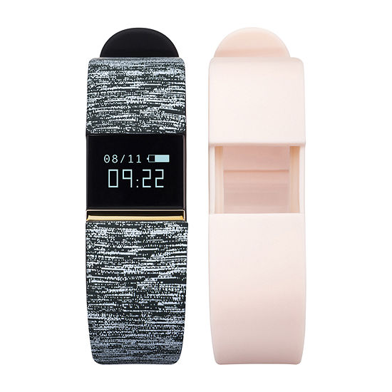 Ifitness Activity Tracker Unisex Digital Multicolor Smart Watch-Ift2676bk668-078