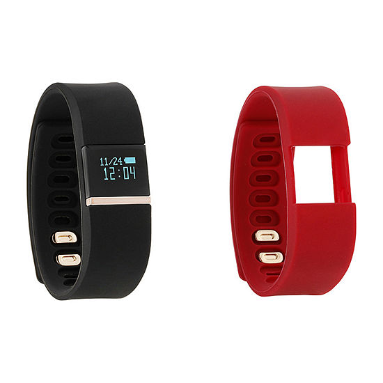 Ifitness Unisex Red Smart Watch-Ift2744bk668-413
