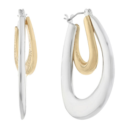 Gloria Vanderbilt 35mm Hoop Earrings