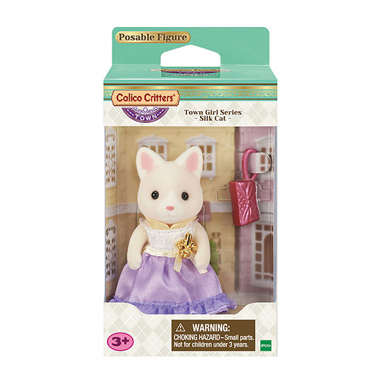 Calico Critters Lulu Silk Cat