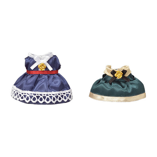 Calico Critters Dress Up Set Blue Green