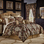 Croscill Classics Bradney 4-pc. Damask + Scroll Heavyweight Comforter Set