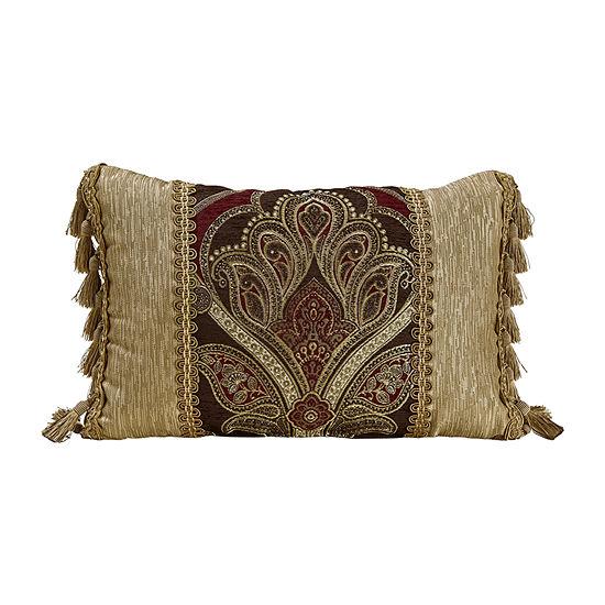 Croscill Classics Bradney Rectangular Throw Pillow