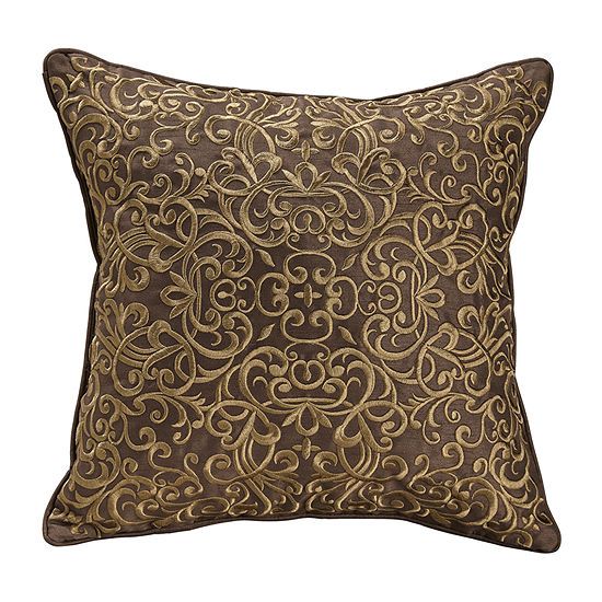 Croscill Classics Bradney 16x16 Square Throw Pillow