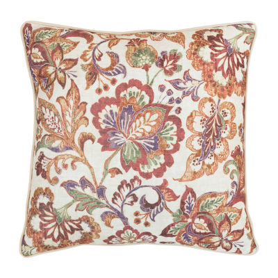 Croscill Classics Delilah 18x 18 Square Throw Pillow