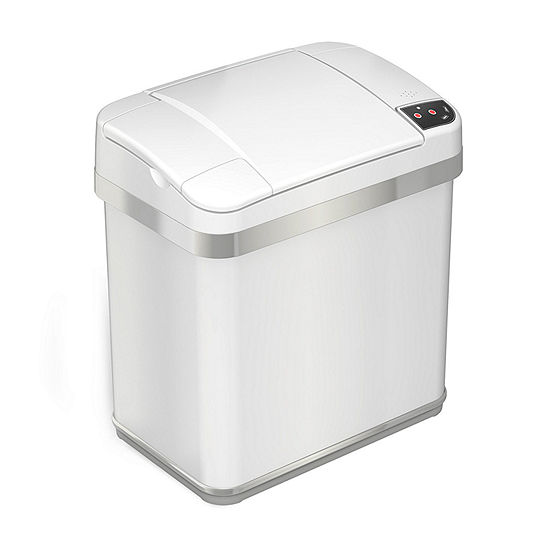 iTouchless® 2.5-Gallon Multifunction Sensor Trash Can