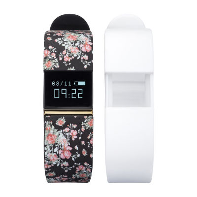 Ifitness Activity Tracker Unisex Adult Digital Multicolor Smart Watch-Ift2668bk668-078