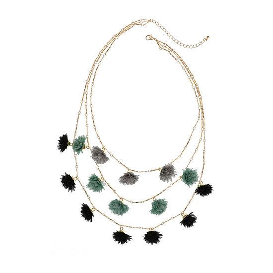 Bijoux Bar 18 Inch Link Illusion Necklace