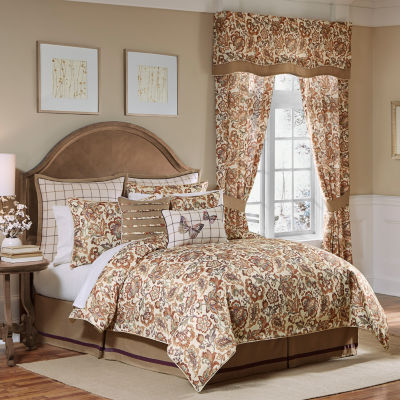 Croscill Classics Delilah 4-pc. Floral Heavyweight Comforter Set