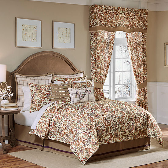 Croscill Classics Delilah 4-pc. Floral Heavyweight Comforter Set