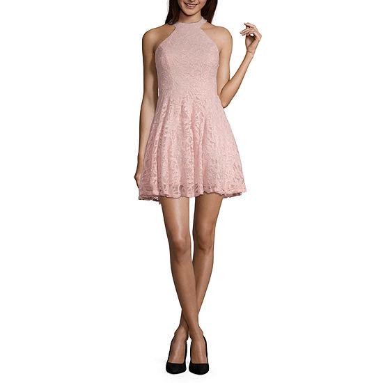 B Darlin Sleeveless Party Dress Juniors