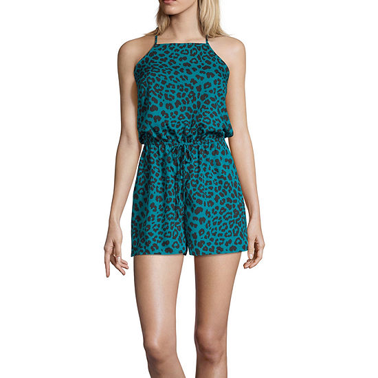 Arizona Sleeveless Romper-Juniors