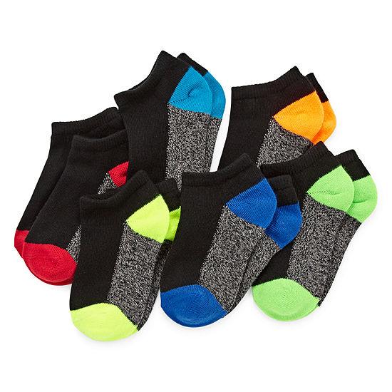 Xersion 6 Pair Low Cut Socks Boys Big Kid
