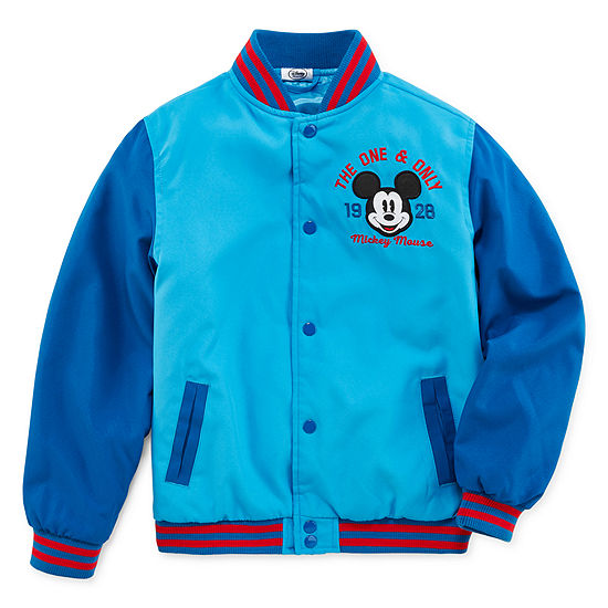 Disney Boys Mickey Mouse Varsity Jacket