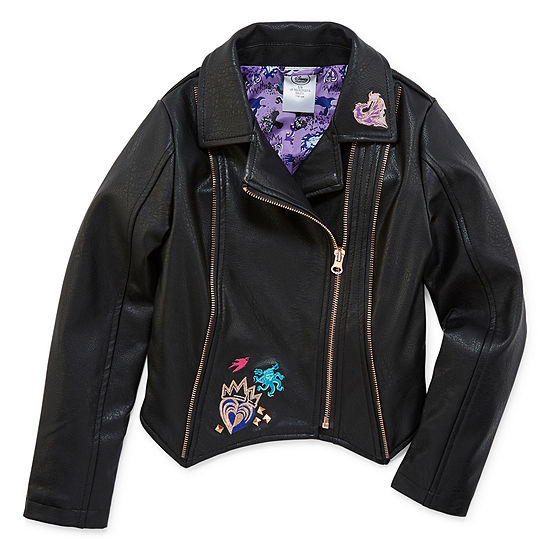 Disney Girls Descendants Midweight Motorcycle Jacket