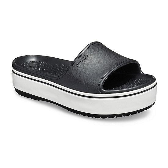 94dee0d175c3 Crocs Unisex Adult Crocband Platform Slide Slide Sandals - JCPenney