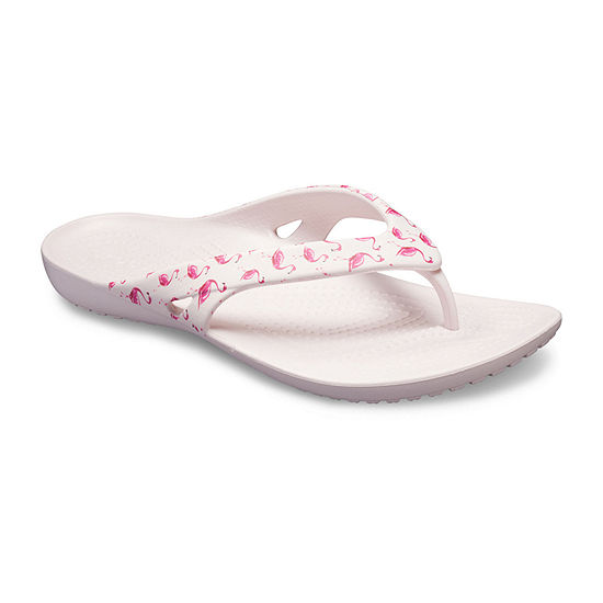 Crocs Womens Kadee Ii Seasonal Flip Flip-Flops