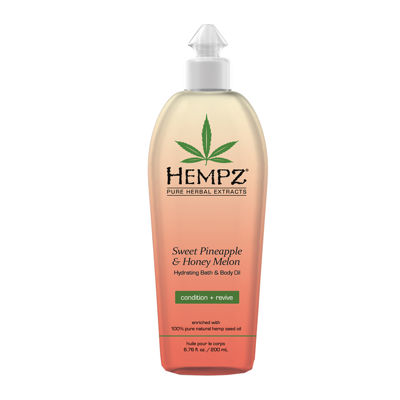 Hempz® Sweet Pineapple & Honey Melon Bath & Body Oil - 6.76 oz.