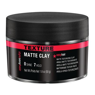 Sexy Hair® Matte Texturizing Hair Clay - 1.8 oz.