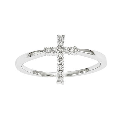 Diamond Accent 14K White Gold Ring