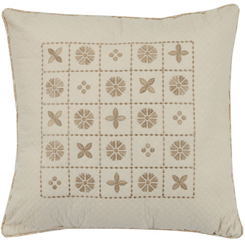 "Mary Jane's Home Sunset Serenade 18"" Square Decorative Pillow"
