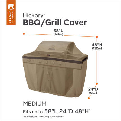 Classic Accessories® Hickory Medium Grill Cover