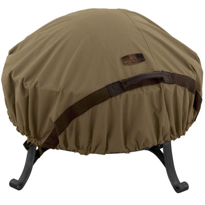 Classic Accessories® Hickory Large Round Fire Pit Cover
