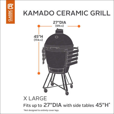 Classic Accessories® Hickory X-Large Kamado Ceramic Grill Cover