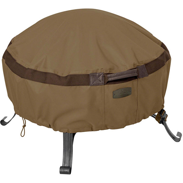 Classic Accessories® Hickory Large Round Full Coverage Fire Pit Cover