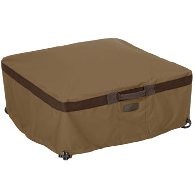 Classic Accessories® Hickory Large Square Full Coverage Fire Pit Cover