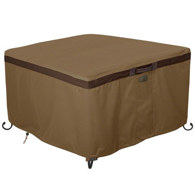"""Classic Accessories® Hickory 42"""" Square Fire Pit Table Cover"""