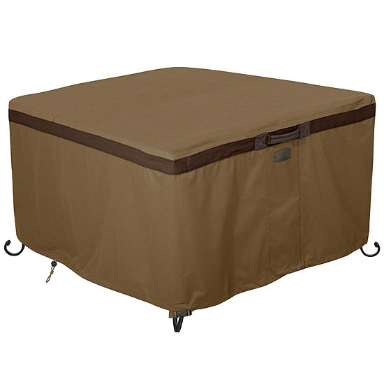 "Classic Accessories® Hickory 42"" Square Fire Pit Table Cover"