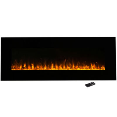 """54"""" Wall Mount Electric Fireplace"""
