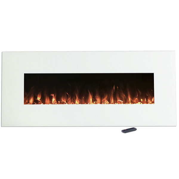 "50"" Color Changing Wall Mount Electric Fireplace"