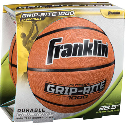 Franklin Sports Grip-Rite 1000 Intermediate Basketball