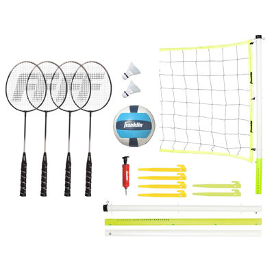 Franklin Sports Advanced Badminton & Volleyball Set