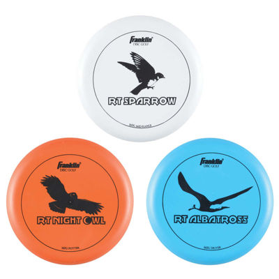 Franklin Sports 3-pk. Disc Golf Discs