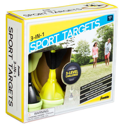 Franklin Sports Soft Tip Target-Toss