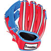 """Franklin Sports Air Tech 9"""" Baseball Glove Right Handed Thrower with Ball"""